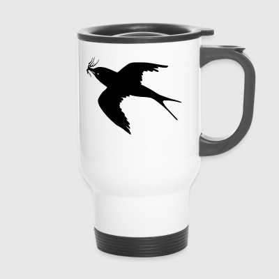 Swallow lady - Travel Mug