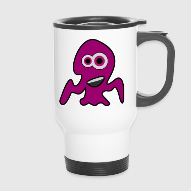 Kleines Monster Octopus - Thermobecher