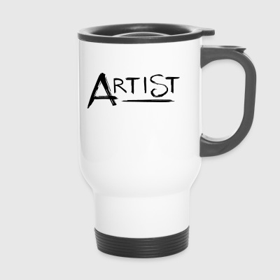 Artist 's signature - Travel Mug