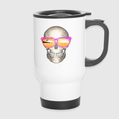 Vacation skull - Travel Mug