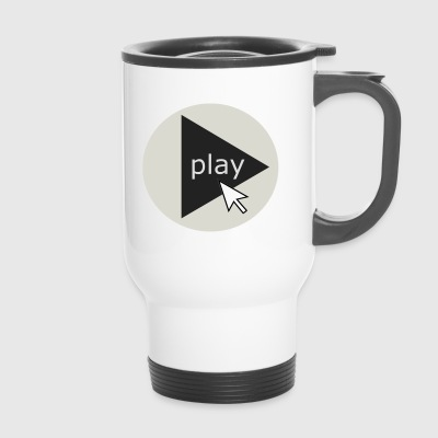 play - Travel Mug