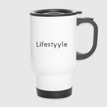 Lifestyyle white - Travel Mug