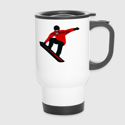Snowboarder - Travel Mug