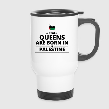 GESCHENK QUEENS LOVE FROM PALESTINE PALESTINA - Thermobecher