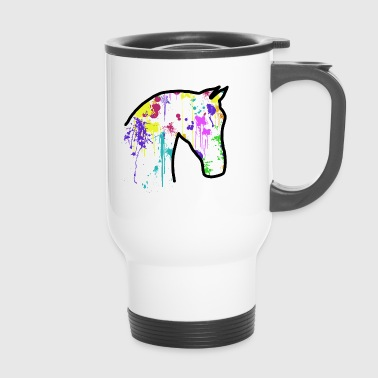 Cheval éclaboussures - Mug thermos