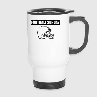 FOOTBALL SUNDAY - Travel Mug