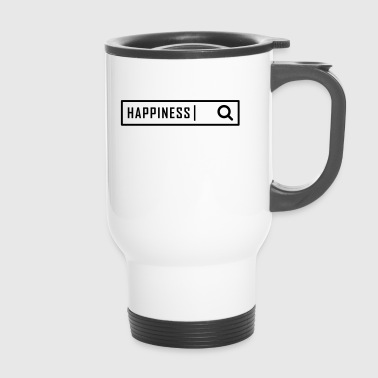 Search happiness - Travel Mug