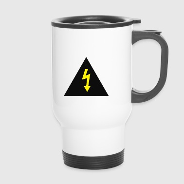 electricity danger signal - Travel Mug