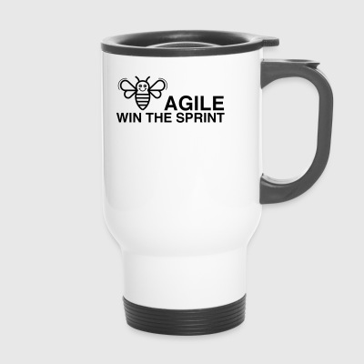 BE AGILE WIN THE SPRINT - Thermobecher