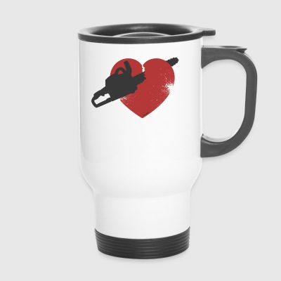 Broken Heart (F) - Travel Mug