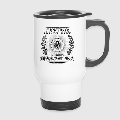 not a calling hobby job provision skateboard skate - Travel Mug
