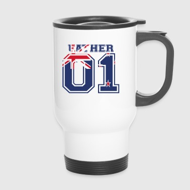 Father father papa 01 queen new zealand - Travel Mug