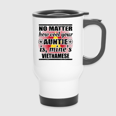 no matter auntie cool auntie venice png - Travel Mug