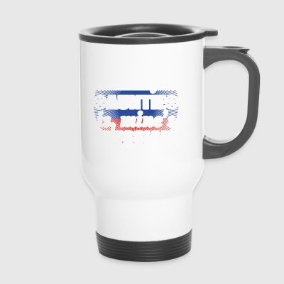 peu importe tante Auntie froide empoisonne la Russie .png - Mug thermos