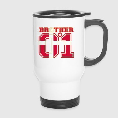 brother brother brother 01 partner Denmark - Travel Mug