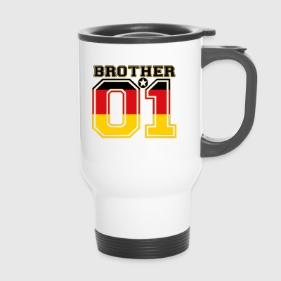 king bruder brother 01 partner Deutschland - Thermobecher