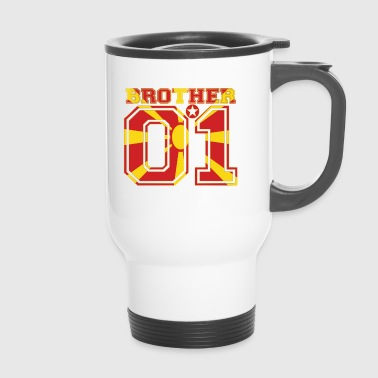 brother brother brother 01 partner Macedonia - Travel Mug