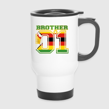 brother brother brother 01 partner Zimbabwe - Travel Mug