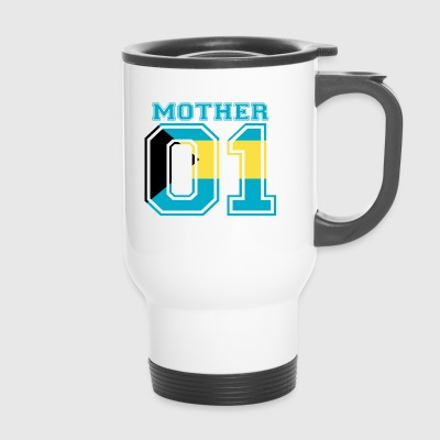 MOTHER MAMA 01 MOTHER QUEEN Bahamas - Travel Mug