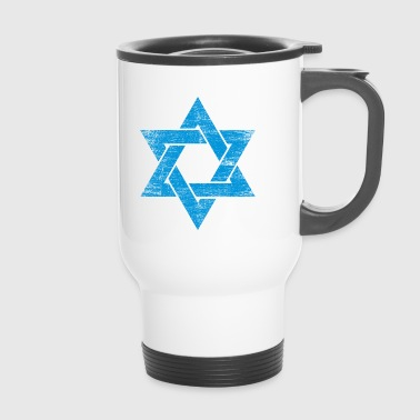 Star of Israel - Davidstern Geschenk - Thermobecher