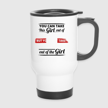 Take out gift dear origin girl PERU - Travel Mug