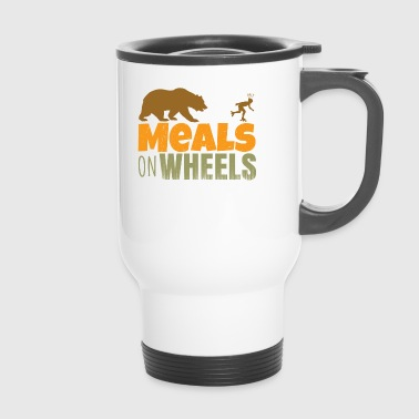 inlineskate - meals on wheels - Taza termo