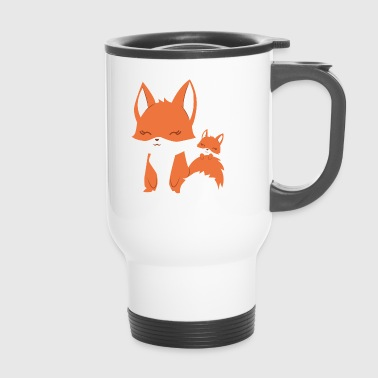 Fox - Vixen - Family - Gift - Fox - Travel Mug