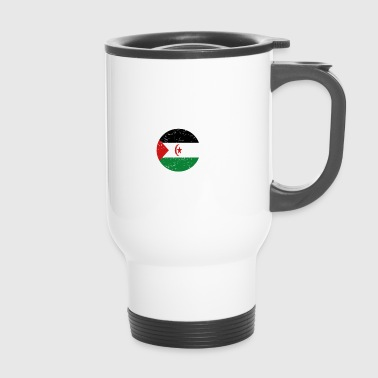 beauty comes from WESTERN SAHARA png - Travel Mug
