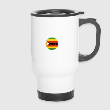 beauty comes from ZIMBABWE png - Travel Mug