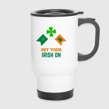 Get your Irish on St Patricks Day Bekleidung - Thermobecher