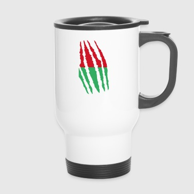 Claw claw cracks origin Madagascar png - Travel Mug