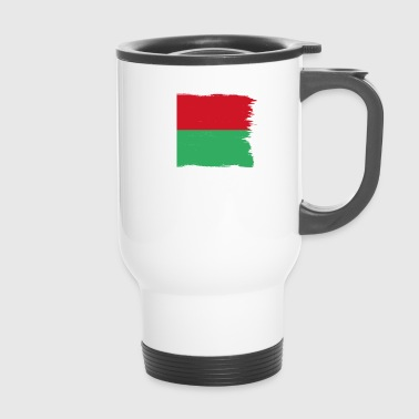 Pride flag flag home origin Madagascar png - Travel Mug