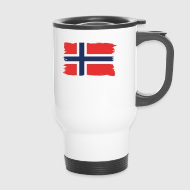 Pride flag flag home origin Norway png - Travel Mug