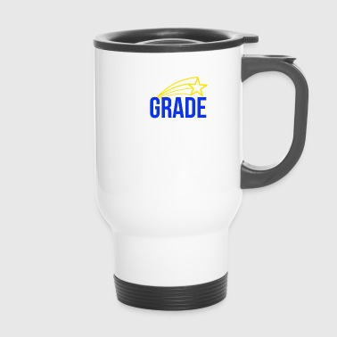 Cute First Grade Dude Kids - Thermobecher