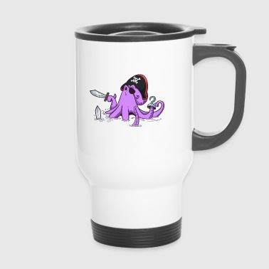 Octopus Pirate - Mug thermos