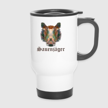 Hunter sow hunter boar sow T-shirt - Travel Mug