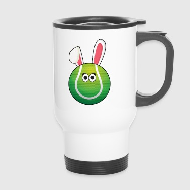 I love Tennis Tennis Ball Easter Gift - Travel Mug