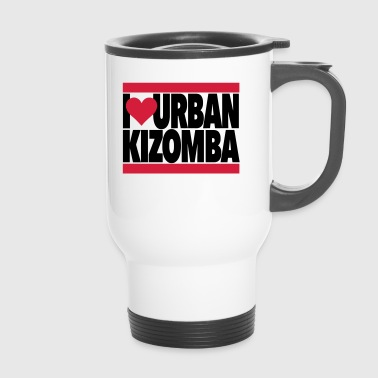 I Love Urban Kizomba - Kizomba Dance Fashion - Travel Mug