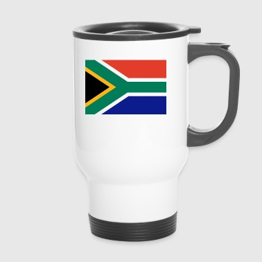 South Africa Flag - Travel Mug