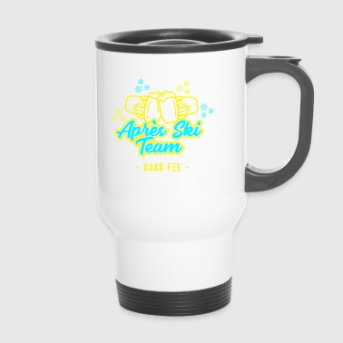 Apres Ski Team Saas Fairy JGA Party Hut T-Shirt - Travel Mug