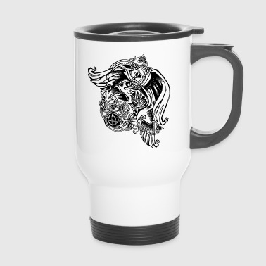 Viking Raven - Travel Mug