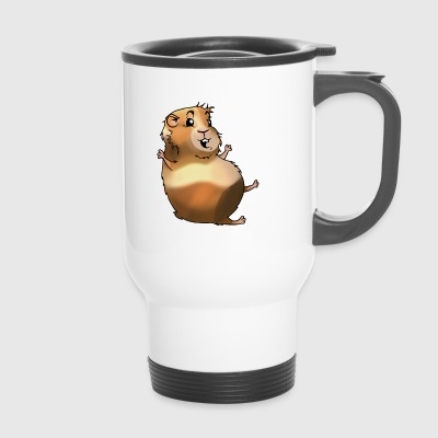 Lapin lapin carotte Rongeur Lièvre Rongeur Hamster - Mug thermos