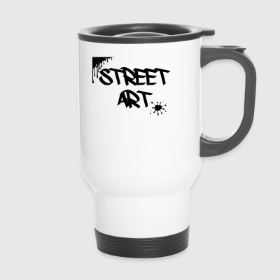 street art - Travel Mug
