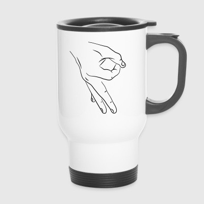 hands game2 - Travel Mug