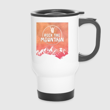 hiking, hiking, leisure, hobbies, mountain - Travel Mug