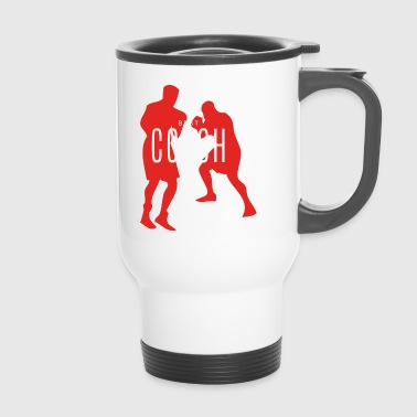 Best Boxing Coach Ever Boxer Gift - Travel Mug