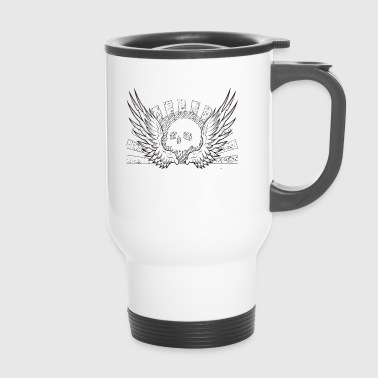 Skull Skull Metal Gothique Hard Rock Heavy Metal - Mug thermos