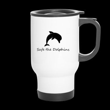 Safe dolphin - Travel Mug