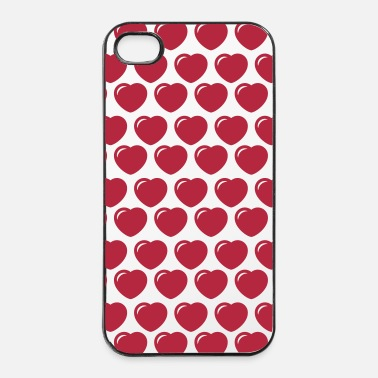 Valentines Day heart - iPhone 4/4s Hard Case