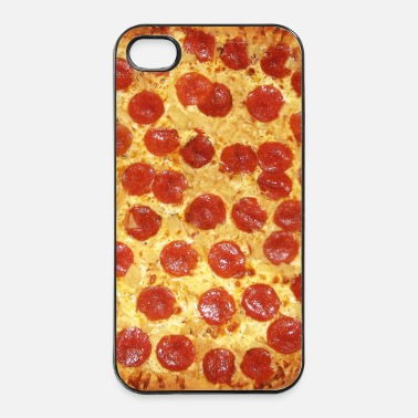Pizza Pepperoni Pizza - Extra Chees (Pattern) Phone Case - Custodia rigida per iPhone 4/4s